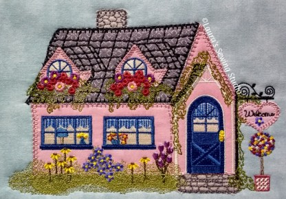 Cottage Shoppe Applique Machine Embroidery Project