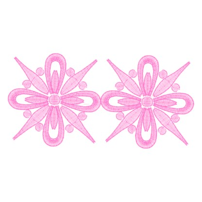 Frilly Doodles No. 8B - Free Embroidery Design