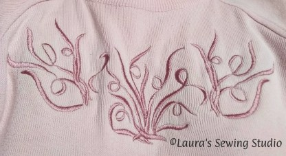 My Scribbles Sweater - Free Embroidery Designs - extra large image