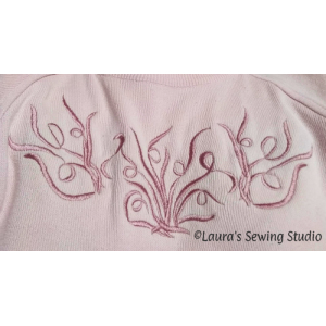 My Scribbles Sweater - Free Embroidery Designs