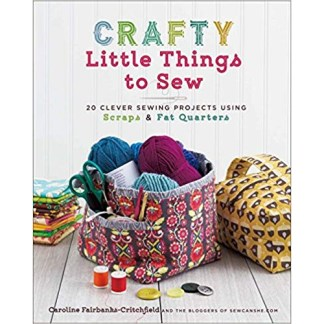 sewing crafts book using fabric scraps and fat quarters