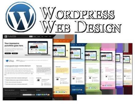 Word Press Web Design Logo