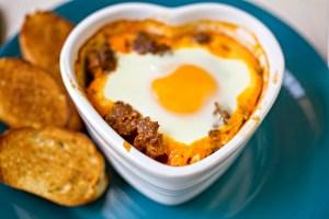 Huevos a la Malagueña (Malaga Style Eggs)