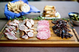 wild game meat board