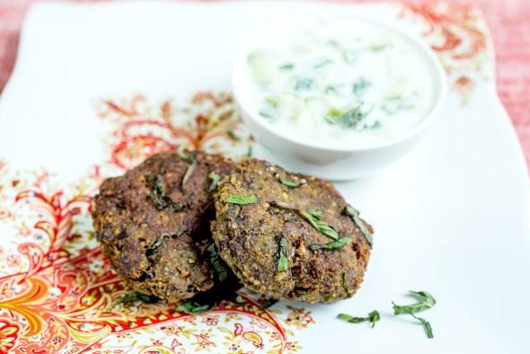 meat falafel