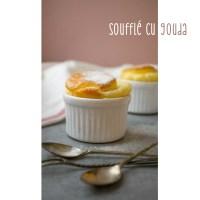 Soufflé cu brânză Gouda