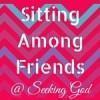 sitting among friends