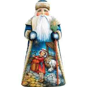 "This ""devotional Santa"" with a drummer boy will set you back only $400. I didn't know ""devotional Santa"" was a thing."
