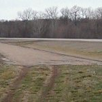 Fragment of old road near Depew, OK.