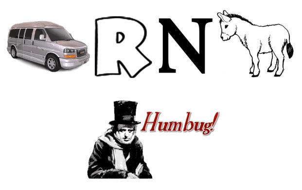 Van. R. N. Donk. Bah.