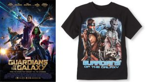 Children's Place defended this male-only design by saying that Gamora couldn't be fit on the shirt -- insulting their designers -- and by saying that boys only wanted more-identifiable characters. Because saying a boy is more like a barely-verbal plant or an escaped lab animal than a competent woman is not insulting AT ALL.