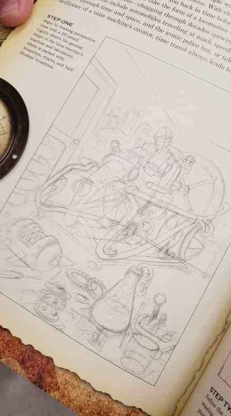 """Some craft books are intimidating. """"Step 1: Master perspective, foreshortening, and composition."""""""