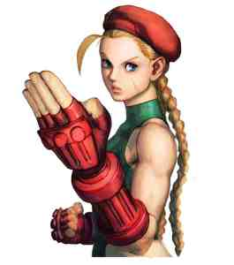 Cammy from Capcom's Street Fighter franchise