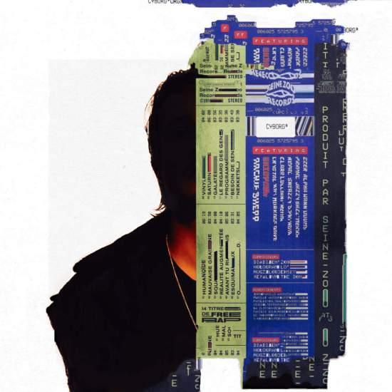 "Pochette de l'album ""Cyborg"" de Nekfeu."