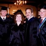 College - Religion Major Friends & Mentor Professor