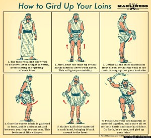 How to gird your loins