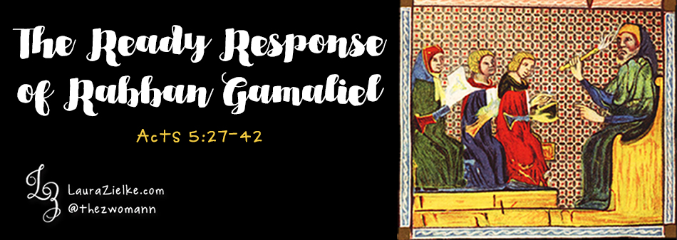 The Ready Response of Rabban Gamaliel