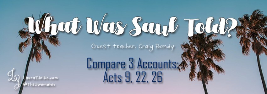 What Was Saul Told?