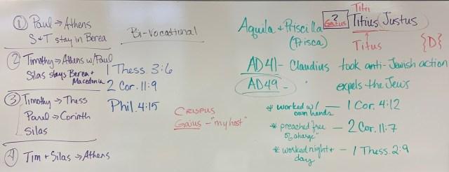 Acts 18:1-8 ~ Aquila & Priscilla