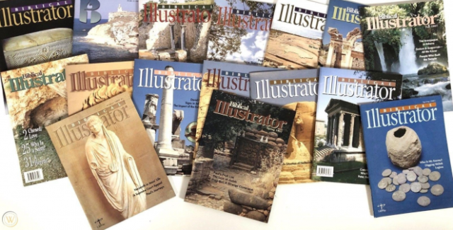 Image of 16 Biblical Illustrator magazines