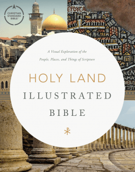 Image of the cover of the Holy Land Illustrated Bible