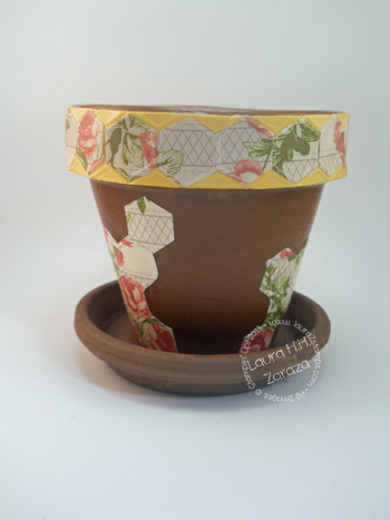 Decoupage with Designer Series Paper
