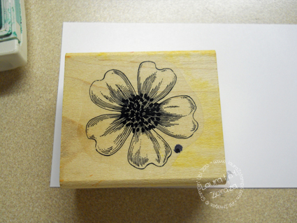 Stamp the Flower stamp
