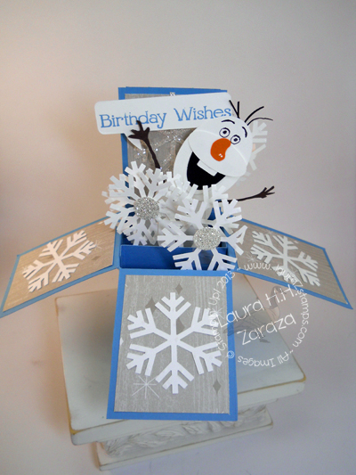 Punched-Olaf-Card-in-A-Box