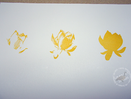 Three-Flower-stamps