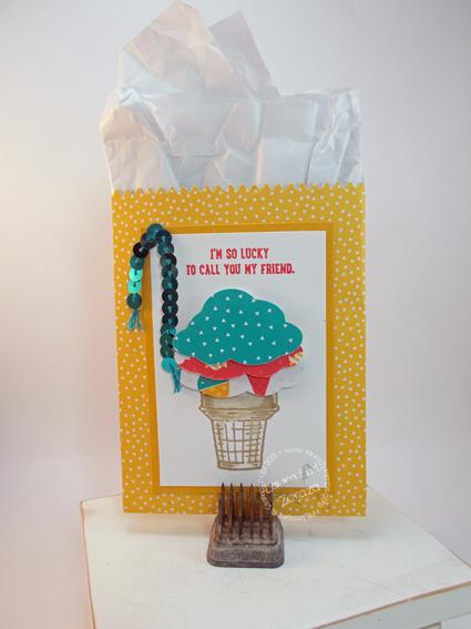 Mini Treat Bag-with Ice Cream cone
