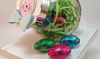 Just a little Easter Bunny Jar
