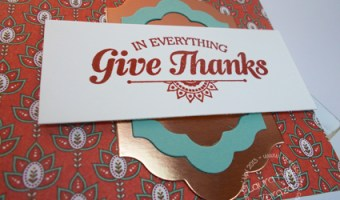 In Everything, Give Thanks