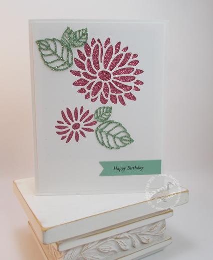 Glimmer Birthday card