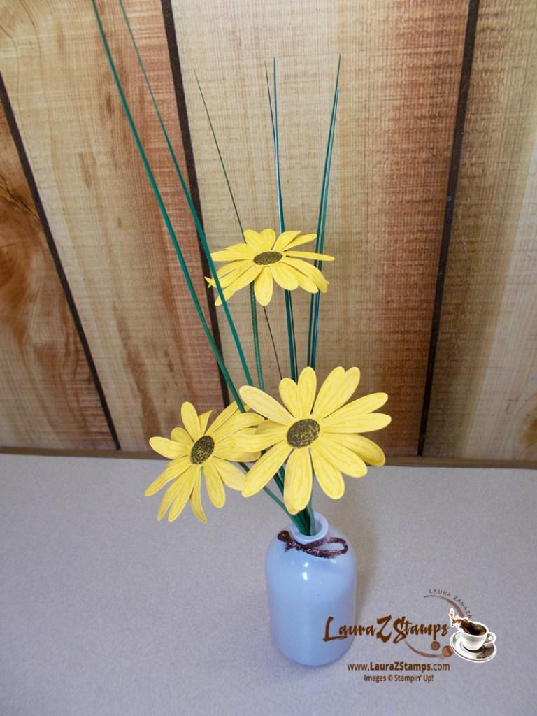 Black-eyed Susan's paper flowers