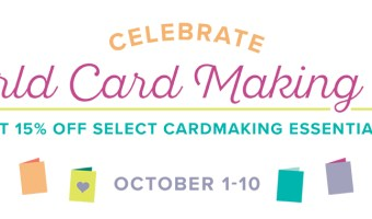 Card Making Supplies for 15 percent off