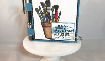 Creative Post-It note holder