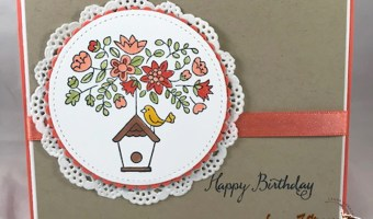 Stamping and Coloring Spring Cards