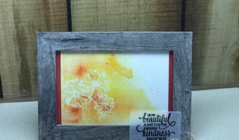 Kindness Framed Art