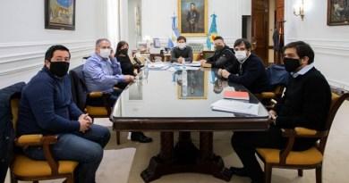 Kicillof se reunió con intendentes de la primera sección