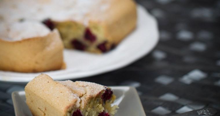 Gâteau aux mûres  (sans gluten/ sans lactose)