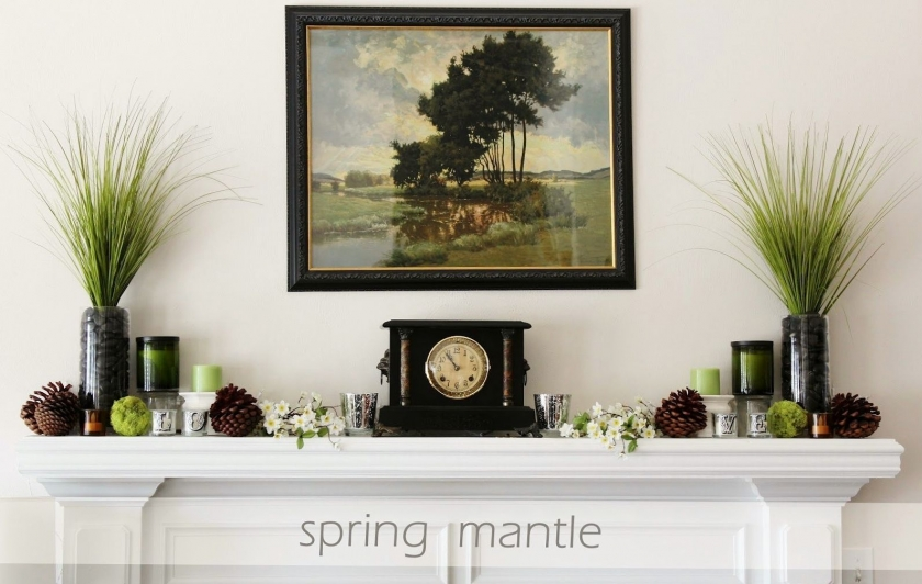 20 Great Fireplace Mantel Decorating Ideas   laurel home blog whatnottodo 2