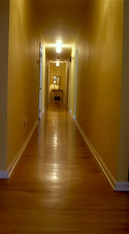Help For A Long Boring Hallway  and what not to do    laurel home Ew