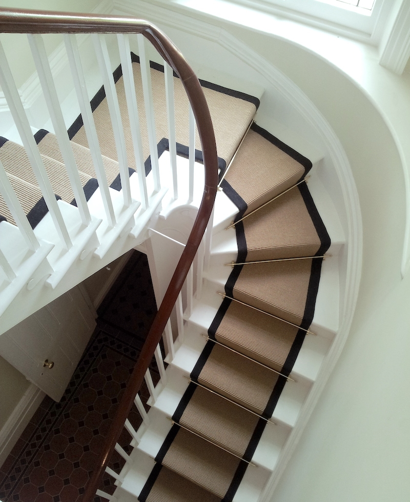 Stair Runners And The One Fiber You Should Never Use   Wool Carpet Runners For Stairs   Flooring   Woven   Rectangular Cord Treads   Stair Country Style   Modern
