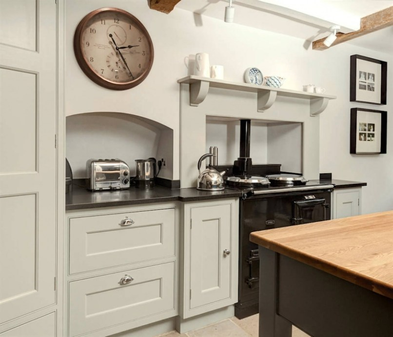 farrow and ball white tie kitchen cabinets. Black Bedroom Furniture Sets. Home Design Ideas