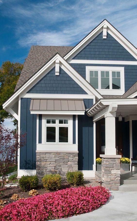 benjamin moore hale navy exterior paint color laurel home on benjamin moore exterior paint colors id=70682