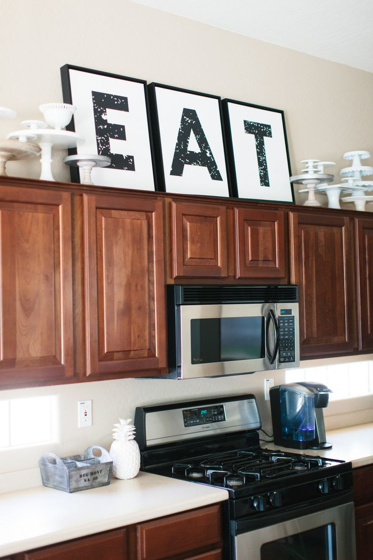 Best Kitchen Gallery: The Tricks You Need To Know For Decorating Above Cabi S Laurel of Decorating Above Kitchen Cabinets on cal-ite.com