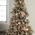 Pretty In Pink Christmas Tree Okay Fine Rose Gold Laurel Home