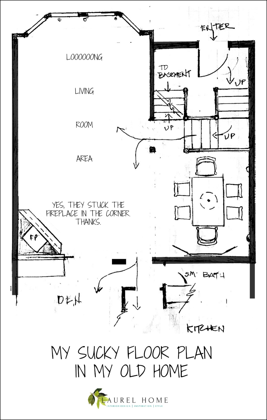 Our House Floor Plan Is Impossible To Furnish
