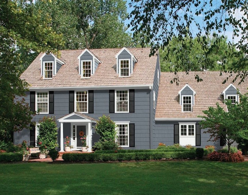 12 of the best paint colors to go with red brick laurel home on benjamin moore exterior paint colors id=66140