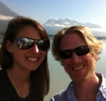 Chris Moy and I are enjoying being back at the dock in Valdez.